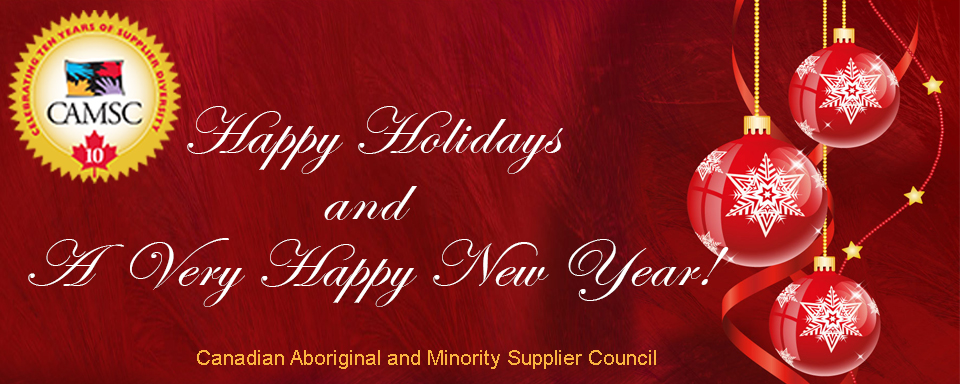 CAMSC Happy Holidays