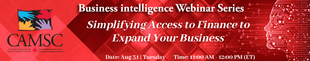 Business Intelligence Webinar: Simplifying Access to Finance to Expand Your Business