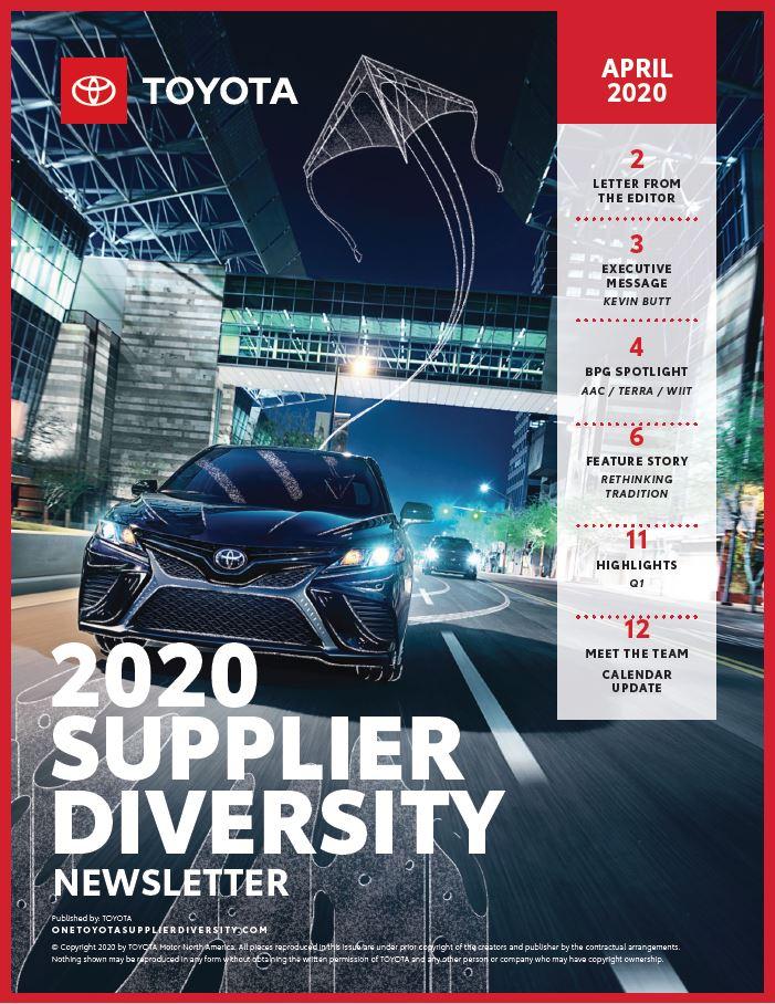 Toyota_April 2020 Supplier Diversity