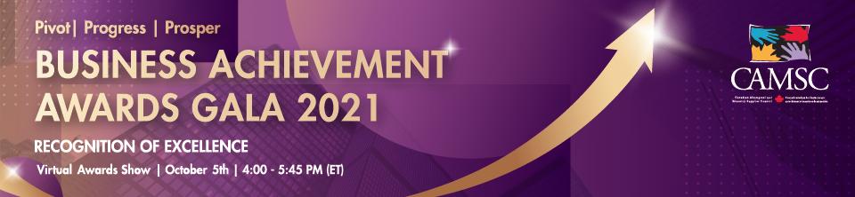 2021 Business Achievement Awards Gala